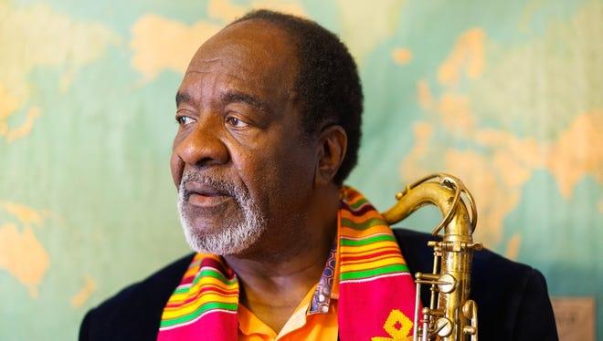 Detroit jazz musician Wendell Harrison, 2018 Kresge Eminent Artist