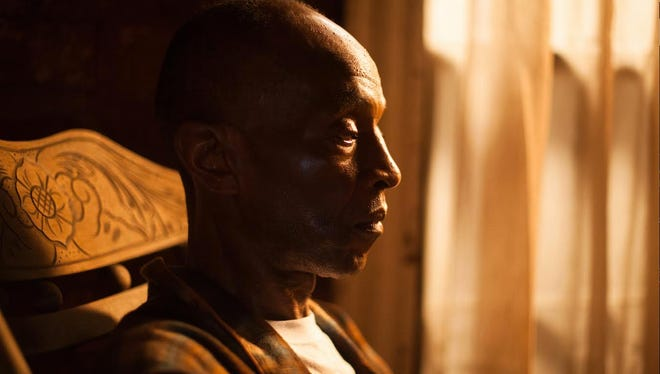 "L.B. Wright plays Mose Till, uncle of Emmett Till, in the Oscar-nominated ""My Nephew Emmett."""
