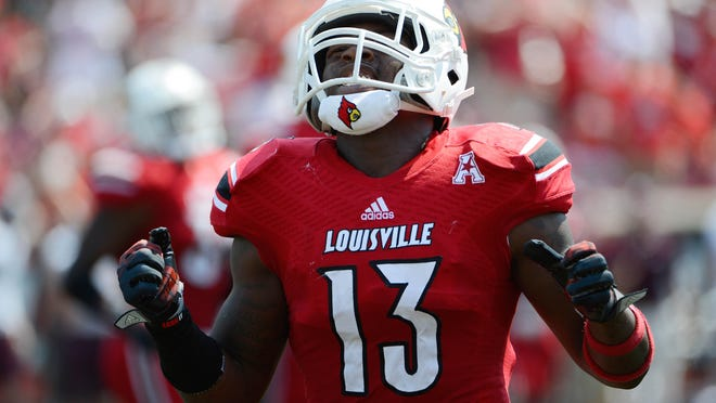 """James Burgess says U of L's linebackers """"could be No. 1 in the country."""""""