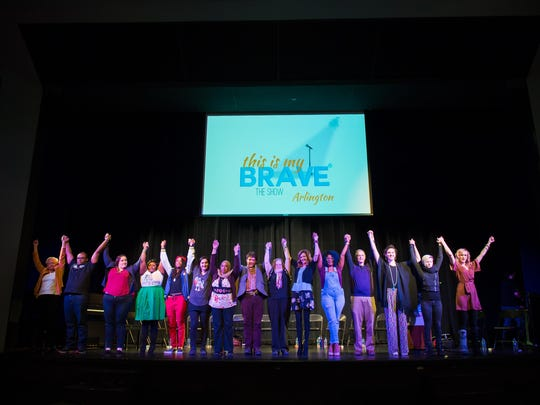 The cast of a past performance of This is My Brave.