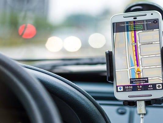 Smartphone-Navigation-System