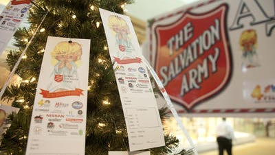 The Salvation Army Angel Trees are set up at area malls, including Green Hills, CoolSprings Galleria and RiverGate, through Dec. 5.