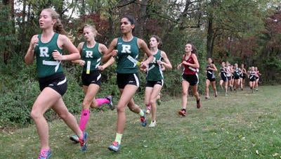 The Ridge girls cross country team came in second at the Skyland Conference Championships on Thursday.