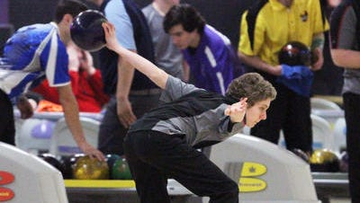 Woodbridge's Kyle Bilawsky bowls during the NJSIAA Individual Tournament of Champions on Feb. 18, 2015.