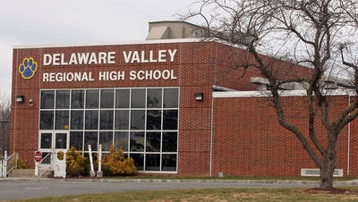 Delaware Valley Regional High School was placed on lock down Tuesday.