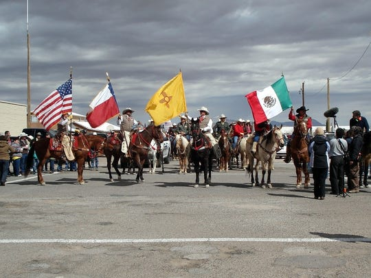The 2014 Cabalgata Binacional, or Cavarly Remembrance
