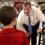 New Jersey Gov. Chris Christie leaned into a crowded GOP presidential field this week.