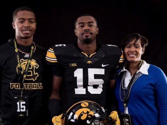 New Iowa football recruit Dallas Craddieth