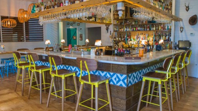 The former Nage restaurant in Rehoboth Beach is now known as Fork + Flask. The bar has been expanded and is now much brighter.
