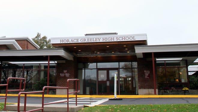 Horace Greeley High School in Chappaqua.