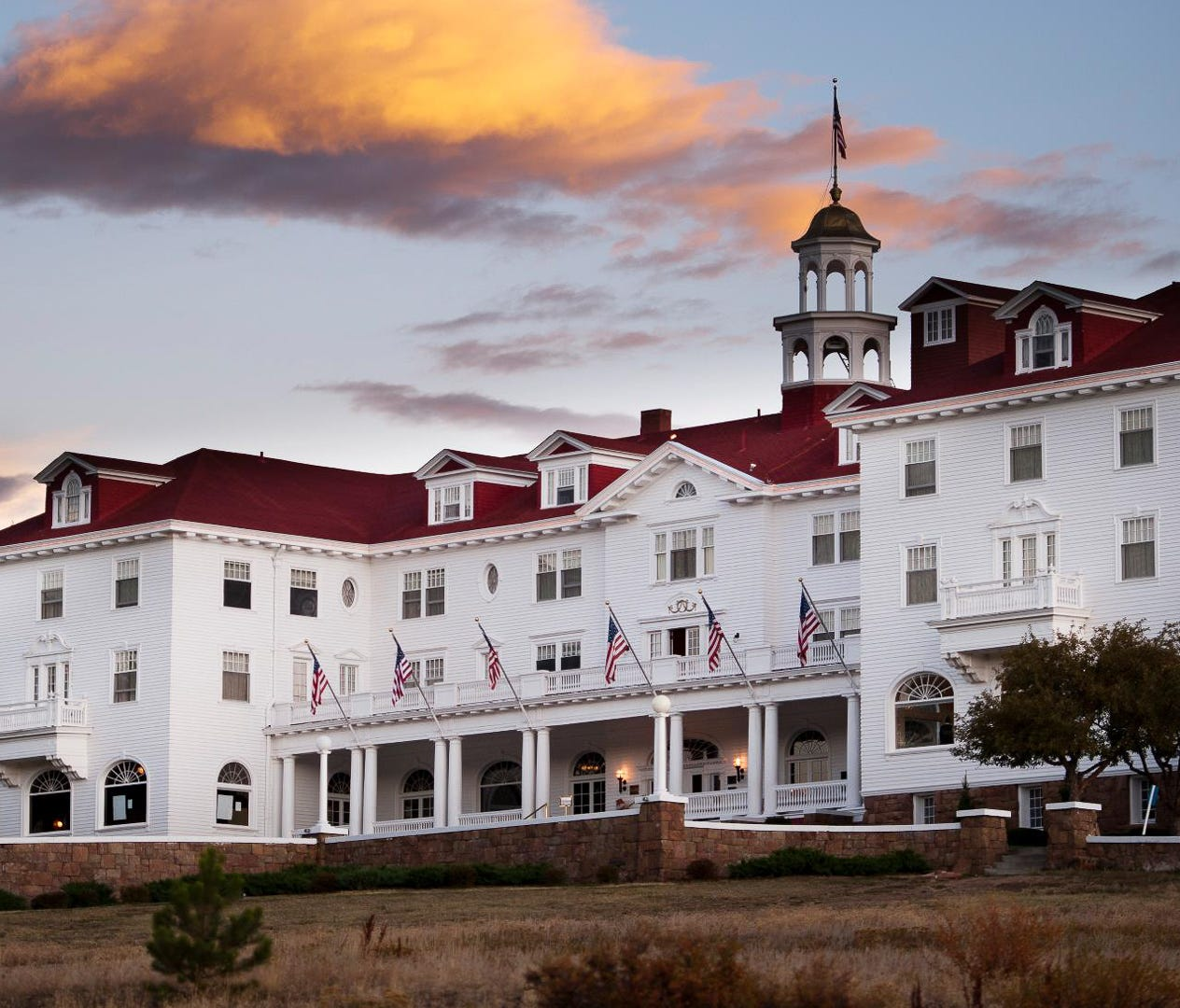 Stanley Hotel, Estes Park, Colo. (Estimated nightly rate: From $237): If you want to visit a location from your favorite movie, plan a trip to this haunted hotel. The Stanley Hotel might be best known as the inspiration for Stephen King's novel,