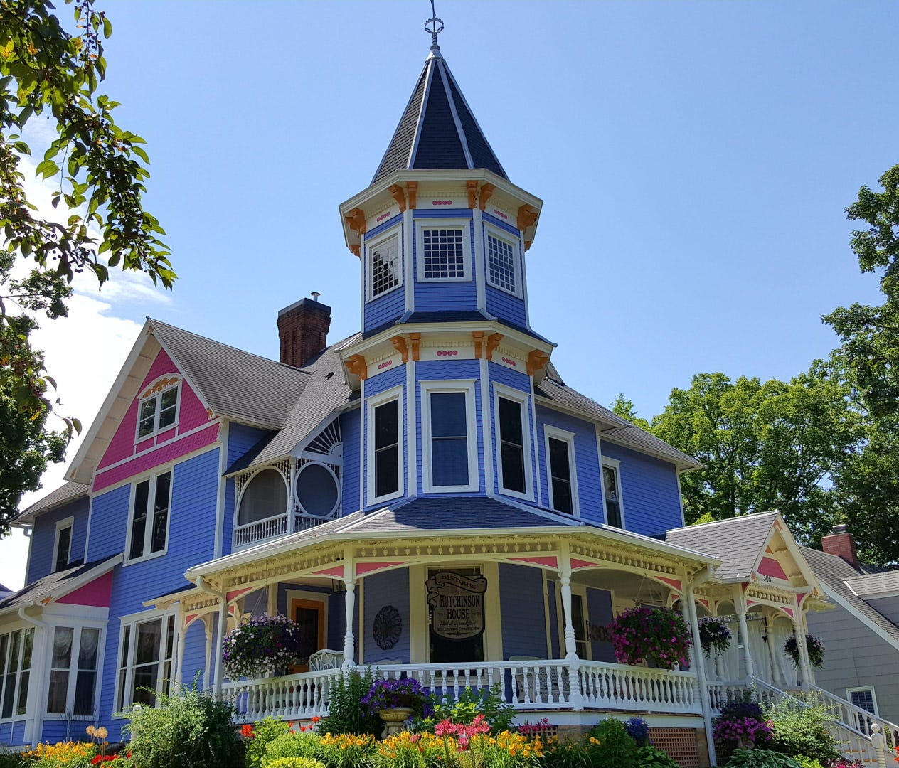 Minnesota: Historic Hutchinson House B&B in Faribault (Price: $169/night): This 1892 Queen Anne Victorian is listed on the National Register of Historical Places but has been updated with plenty of modern conveniences — like WiFi and cable TV — to en
