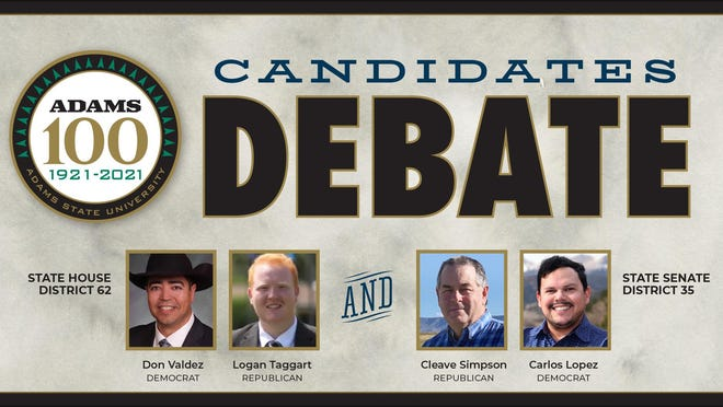 The debates will be hosted live for remote viewing at 5:15 p.m. Sept. 30 at www.adams.edu/live.