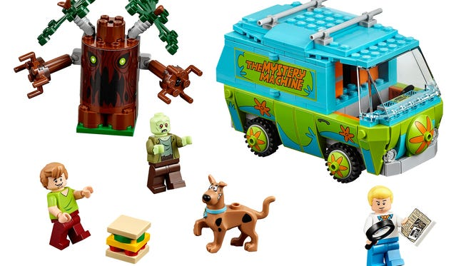 "One of the debut sets in the ""Scooby-Doo"" LEGO line features the iconic Mystery Machine."