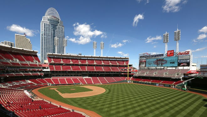 The Cincinnati Reds are putting $5 million in improvements at Great American Ball Park this year. Opening Day is April 6, 2015.