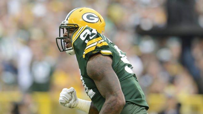 Packers linebacker Jayrone Elliott's plus-5.5 special teams grade tied Jarrett Bush for highest on the team last season, according to Pro Football Focus.