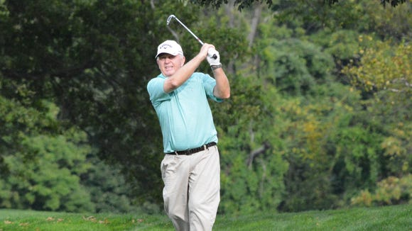 Former Old Oaks head pro Bobby Heins, 66, started the final round one shot off the lead, but closed with a 78.