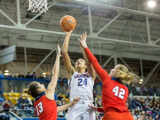 USP NCAA WOMENS BASKETBALL: DUQUESNE VS CONNECTICU S BKW CAN ON