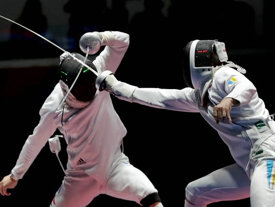 Olympics: Fencing