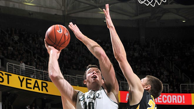 """We've got to be ready for Wisconsin,"" MSU's Matt Costello said."