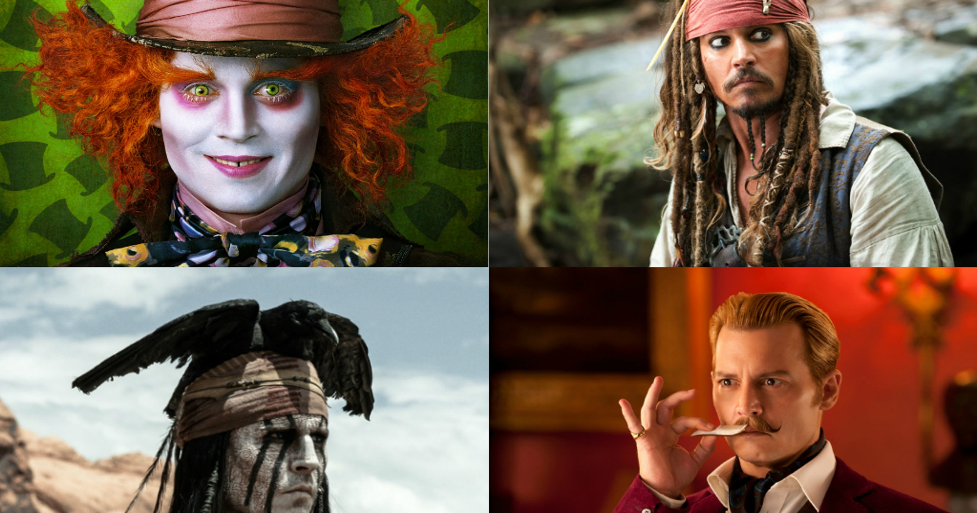 The Mothership The Best And Worst Johnny Depp Characters