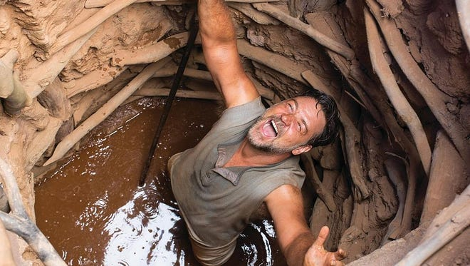 """""""The Water Diviner"""" is Russell Crowe's directorial debut. He also stars in the movie, playing an Australian man who loses three sons in World War I."""