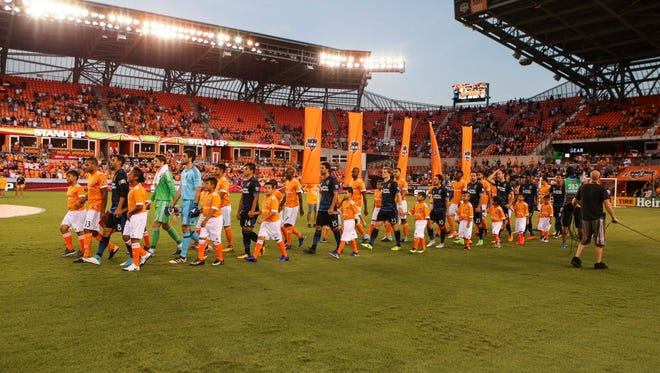 The Houston Dynamo are preparing to play their first game at BBVA Compass Stadium since Hurricane Harvey.