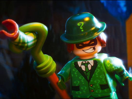 Conan O'Brien brings the Riddler to life in 'The Lego