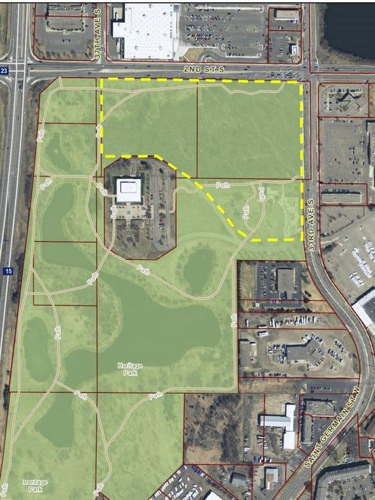 Costco Locations Minnesota Map.Commission Oks Heritage Park Rezoning