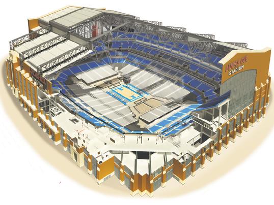 A Look Inside Lucas Oil Stadium Hosts The Ncaa Men S