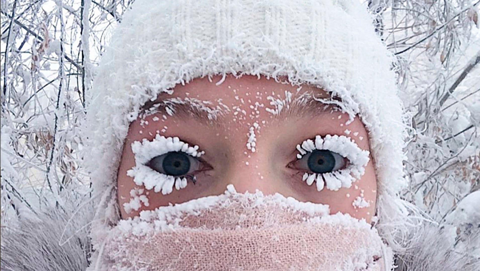 siberia cold  88 below zero is even colder than mars
