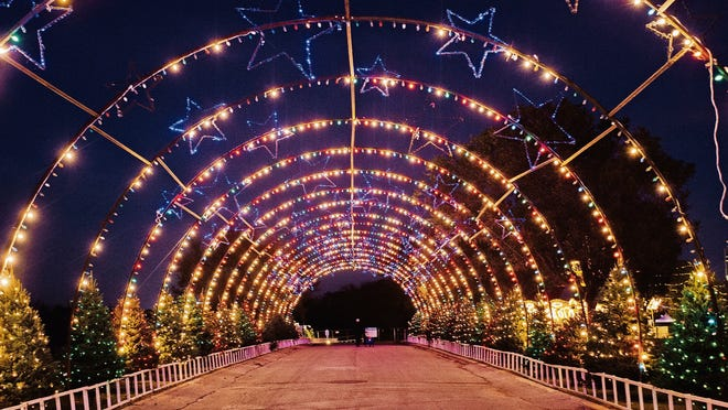 Austin's Trail of Lights is drive-through this year.
