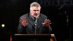 Alec Baldwin speaks onstage during the We Stand United