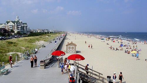 Monmouth County's Spring Lake made number eight on the list.