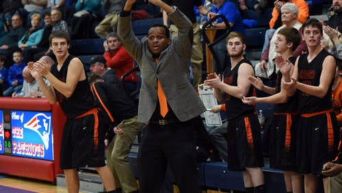 Mackenzie Perry will be Tri-Village's new boys basketball coach this winter.