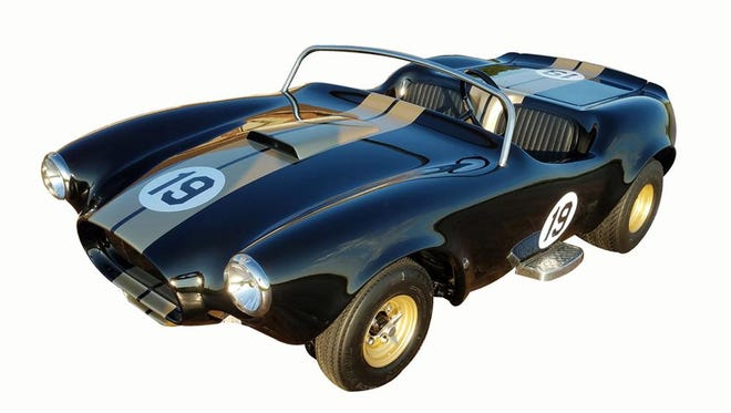 This gas-powered miniature car from Disneyland's Autopia ride is up for auction at Barrett-Jackson Scottsdale on Saturday, Jan. 21, 2017.
