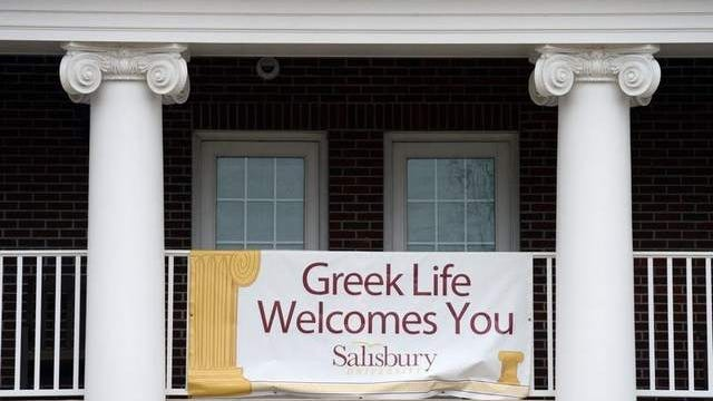 Greek organizations' offices are based at the Scarborough Student Leadership Center at Salisbury University.