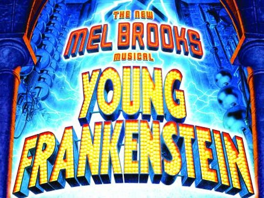 "The ""Young Frankenstein"" poster"