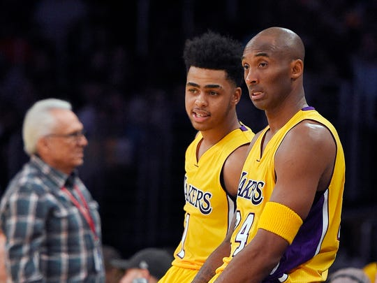 Rookie D'Angelo Russell has been given the opportunity