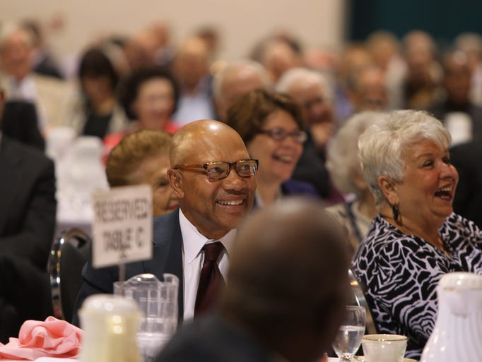 Syndicated columnist Cal Thomas was the keynote speaker at the Community Prayer Breakfast, held at Harborside Event Center in Fort Myers Thursday, May 1.