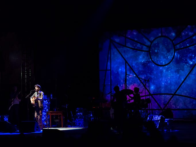 Ray LaMontagne performs at The Woods at Fontanel on July, 25th, in Nashville, Tenn.