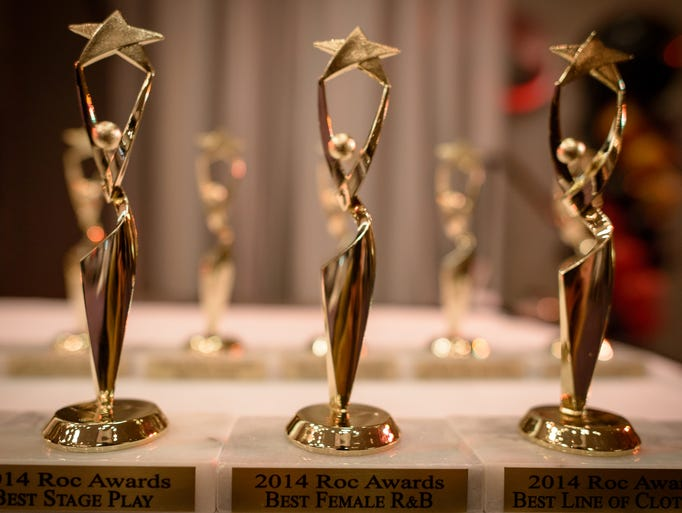 The 2014 ROC Awards at the Rochester Plaza Hotel and Conference Center on February 16.