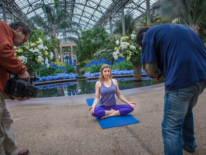 Suzanne Jacksonis filmed in the Conservatory at Longwood Gardens.