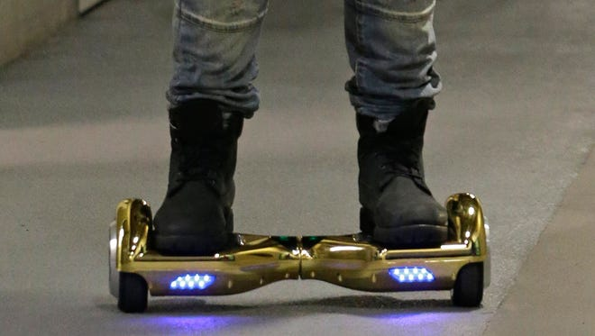 Injuries from users learning to find their footing on hoverboards have led to an uptick of patients seeking medical care.