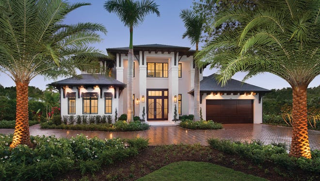 Van Emmerik Custom Homes completed this home on the corner of Third Avenue North and Third Street North in downtown Naples.