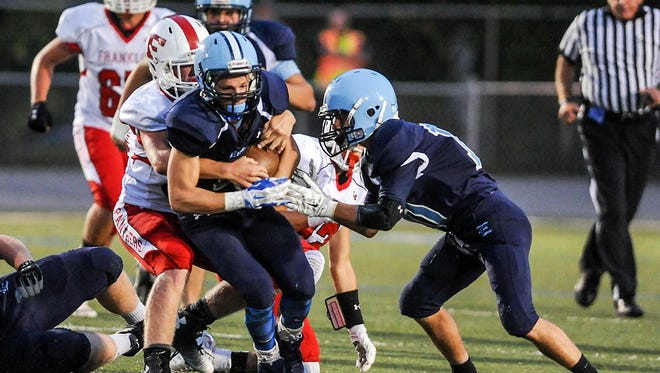 Enka's Michael Cantrell rushed for 511 yards in 2014.