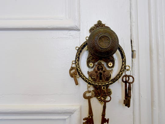 The original lock and keys.