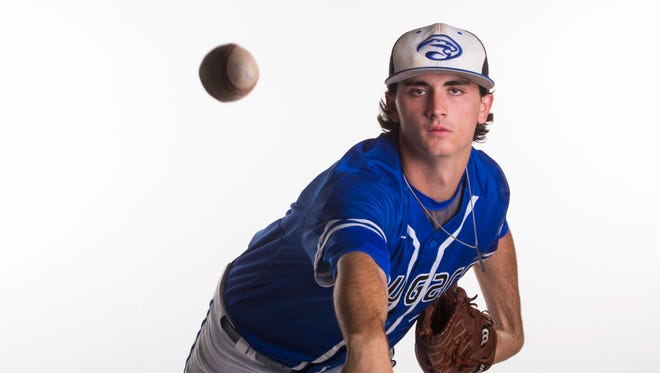 Sam Keating, 18, a senior at Canterbury School.  All Area finalist 2017 - baseball