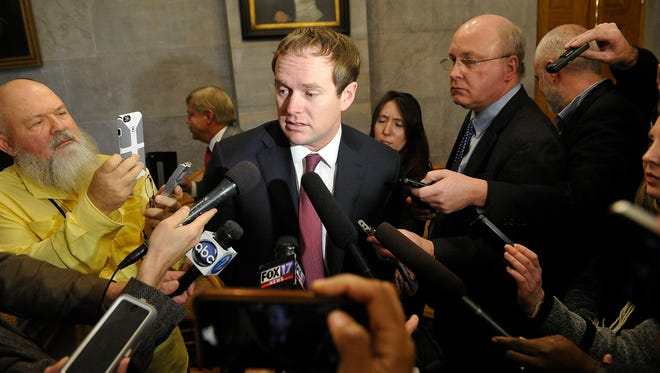 On Sunday Majority Whip Jeremy Durham, R-Franklin, confirmed he had resigned his leadership post.