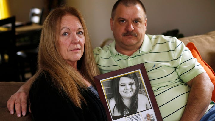 Sheryl and Bob Kock lost their daughter, Brittany, to a heroin overdose. Now the Johnston couple is sharing their family's story in hopes that they can bring attention to the epidemic that took their daughter's life.